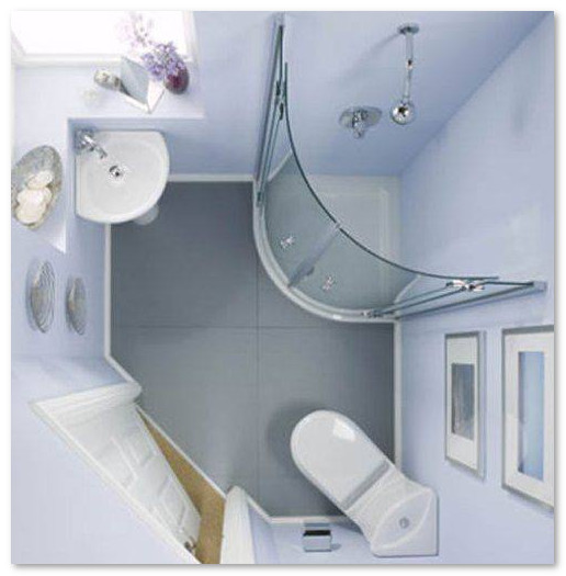 denah kamar mandi sempit
