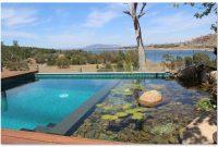 desain indah kolam renang alam
