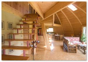 desain interior rumah kubah yang unik