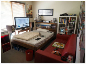 desain kamar tidur untuk maniak gamer