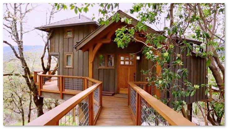 desain rumah di atas pohon
