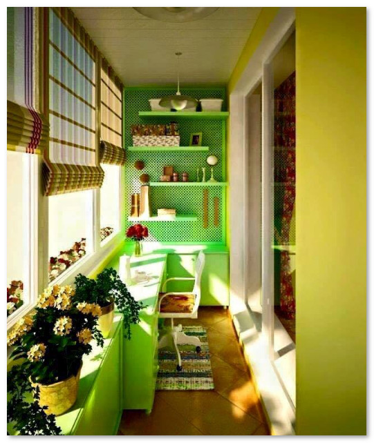 desain teras balkon apartemen
