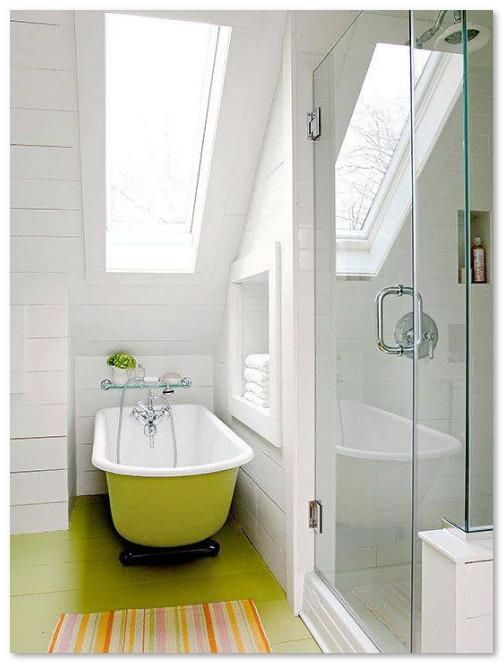 desain kamar mandi sempit desain rumah unik