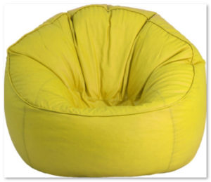 model sofa bean bag