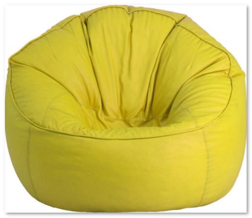 model sofa bean bag