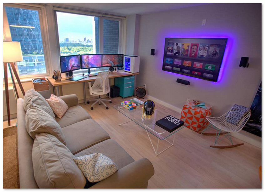 ruang game untuk gamers