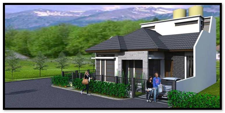 desain minimalis rumah hook desain rumah unik