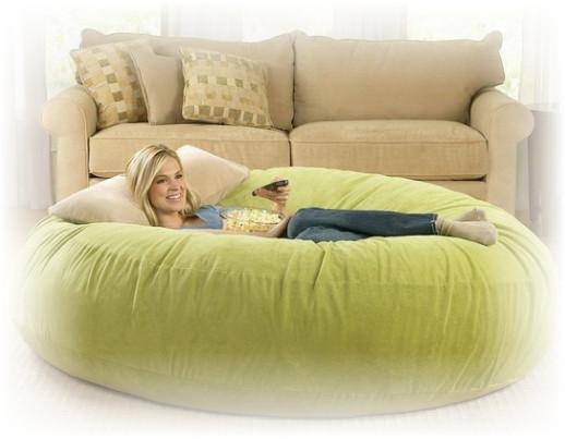 sofa bean bag yang besar nyaman untuk berssantai