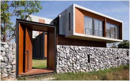 contoh pagar rumah minimalis terbaru desain rumah unik