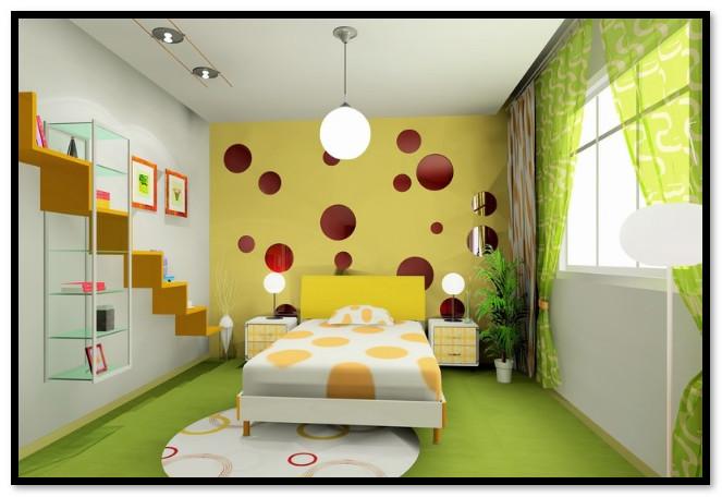 3 tips dekorasi dinding kamar tidur yang perlu for Dekorasi kamar