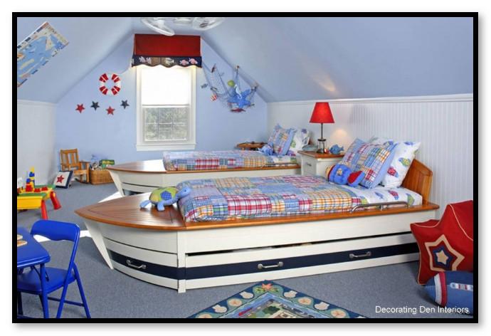 Dekorasi Kamar Tidur Anak yang Keren