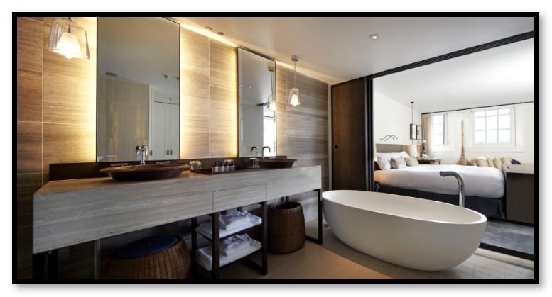 Kamar Mandi Hotel Minimalis Modern