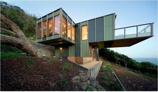 Rumah Unik Etnis Modern