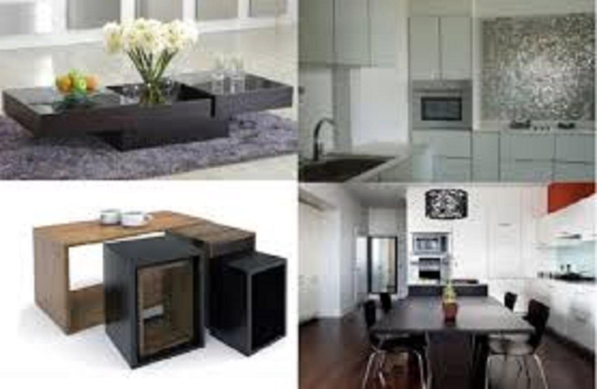Furniture yang minimalis simple untuk mengehemat ruang