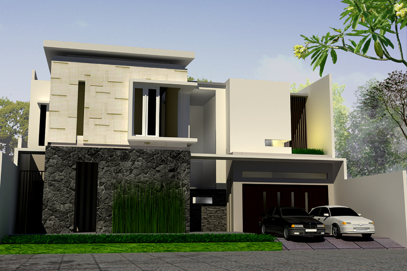 Desain Rumah tipe 60 Minimalis
