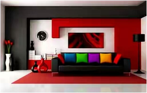 Contoh Warna Hangat Pada Cat Ruang Tamu