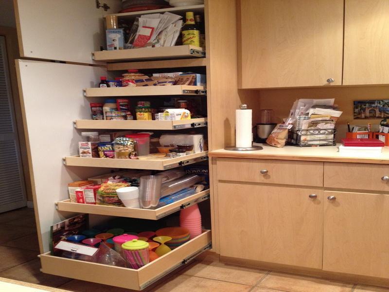 ide penyimpanan dapur kecil