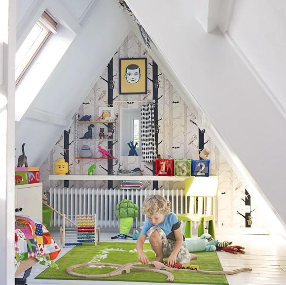 kamar anak di loteng
