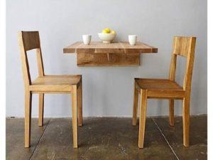 Model meja makan lipat untuk rumah sempit