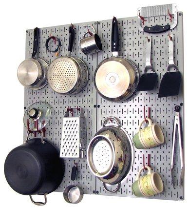 papan penggantung pada dapur minimalis