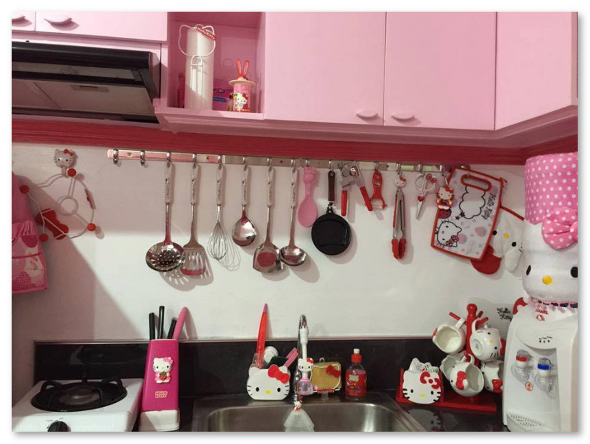 Dapur Tema Hello Kitty