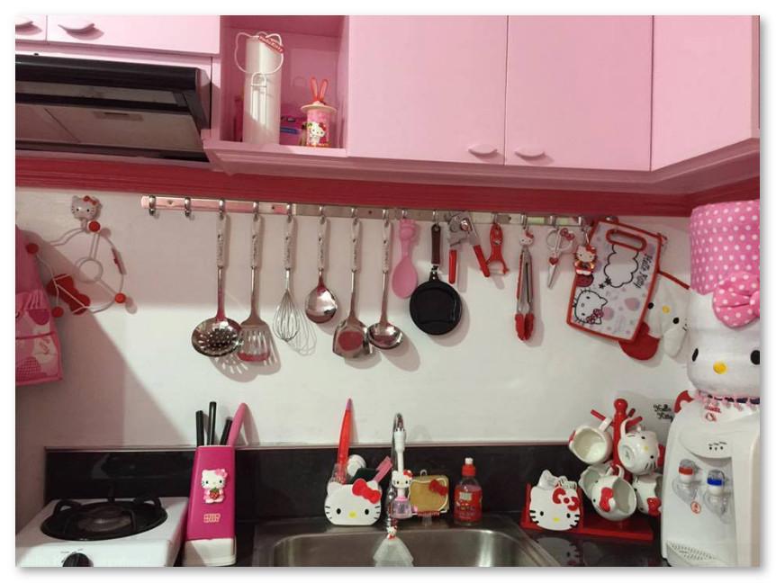 Dapur Tema Hello Kitty
