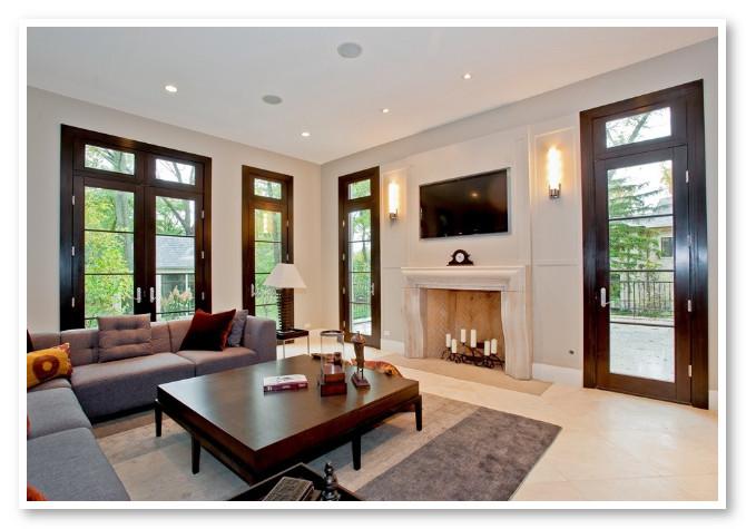 Desain Ruang Keluarga Luas