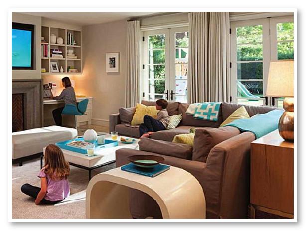 Ide Dekorasi Ruang Keluarga