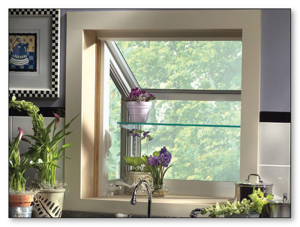 Pemakaian Jendela yang minimalis dan bagus sirkulasi udaranya