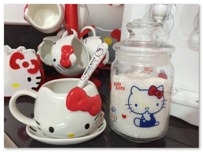 Peralatan Dapur Hello Kitty
