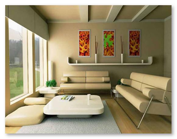 Warna Cat Ruang Tamu Desain Modern