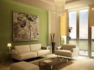 Warna Cat Ruang Tamu ini bisa buat Tamu Anda Betah