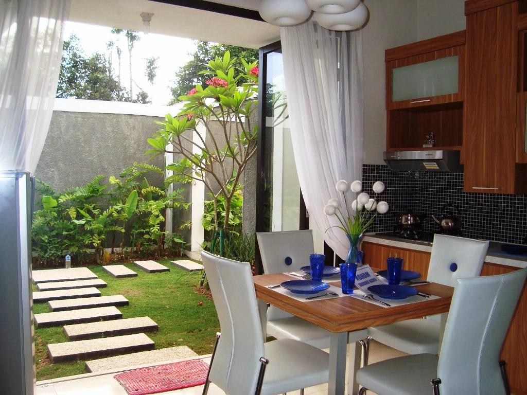 dapur sehat terbuka dan natural