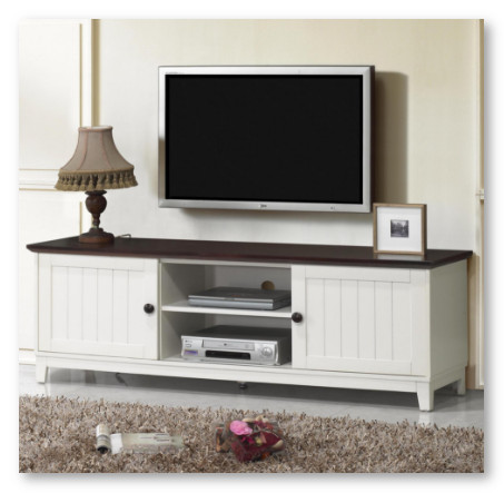 desain olive house mahogany untuk rak tv