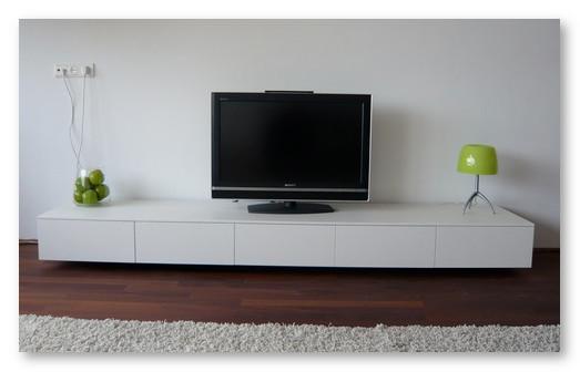 rak meja tv yang modern minimalis