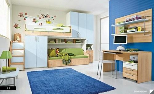 desain kamar anak sharing privasi