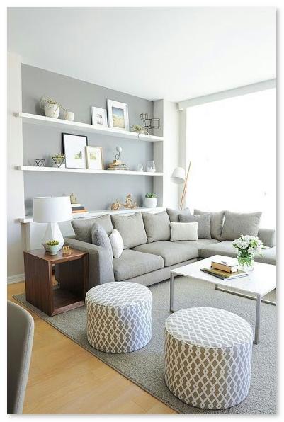 desain ruang keluarga warna cerah cahaya