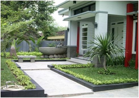 Desain Taman dan Teras Rumah Minimalis Tahun 2016