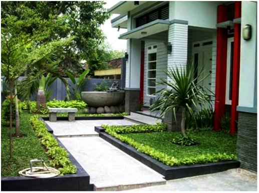 gambar taman teras rumah