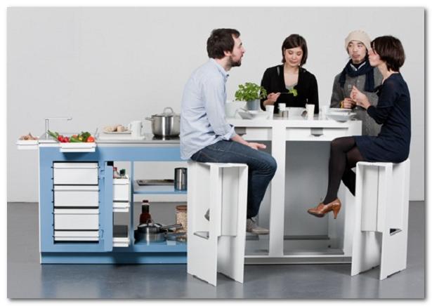 gambar keren ide inspirasi dapur mini untuk bareng bareng