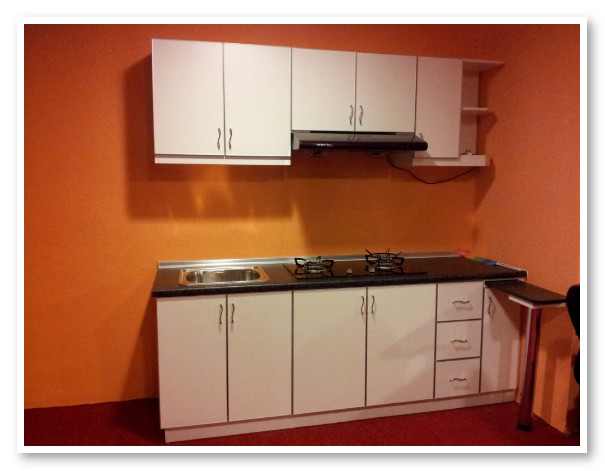 kabinet dapur minimalis sederhana