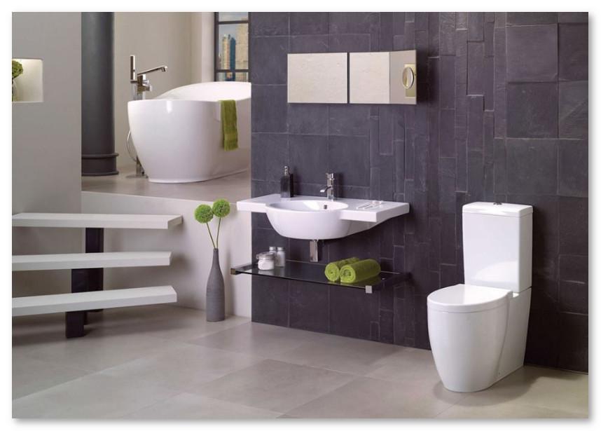 kamar mandi elegan bersih