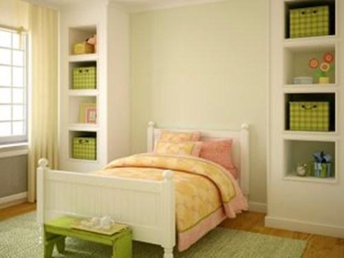 kasur yang nyaman pada desain kreatif kamar anak