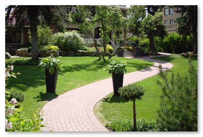 lanskap taman rumah yang bagus