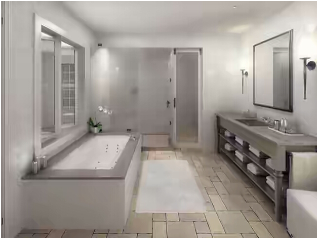 lantai keramik kamar mandi ukuran kecil yang bagus