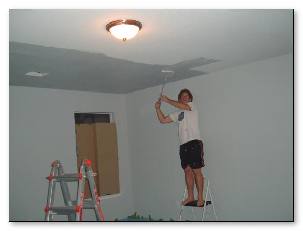 Membetulkan plafond yang rusak