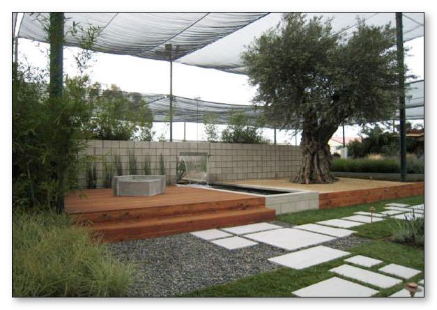 minimalis taman outdoor
