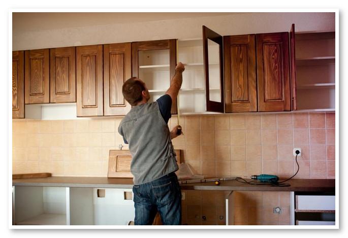 panduan memasang kabinet dapur