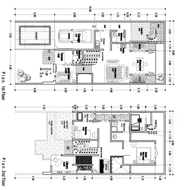 perencanaan detail rumah minimalis