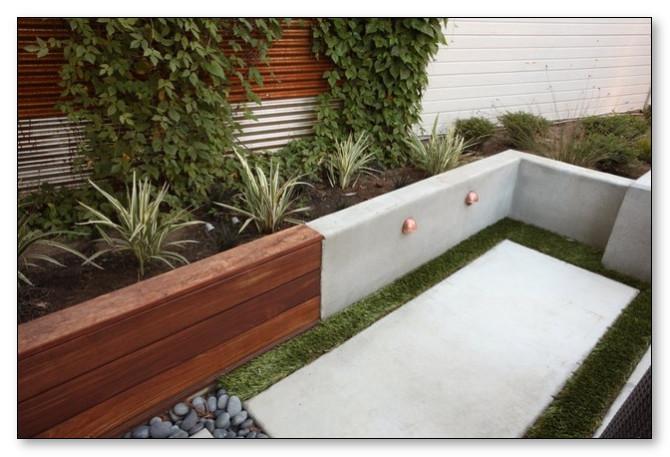 taman minimalis yang sedang tren